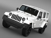 Jeep Wrangler Black Edition 2 2015 3D Model