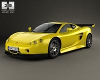 Ascari A10 2006 3D Model