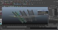 Free Stair Case Generator for Maya 1.0.0 (maya script)