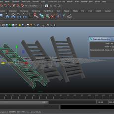 Stair Case Generator for Maya 1.0.0 (maya script)