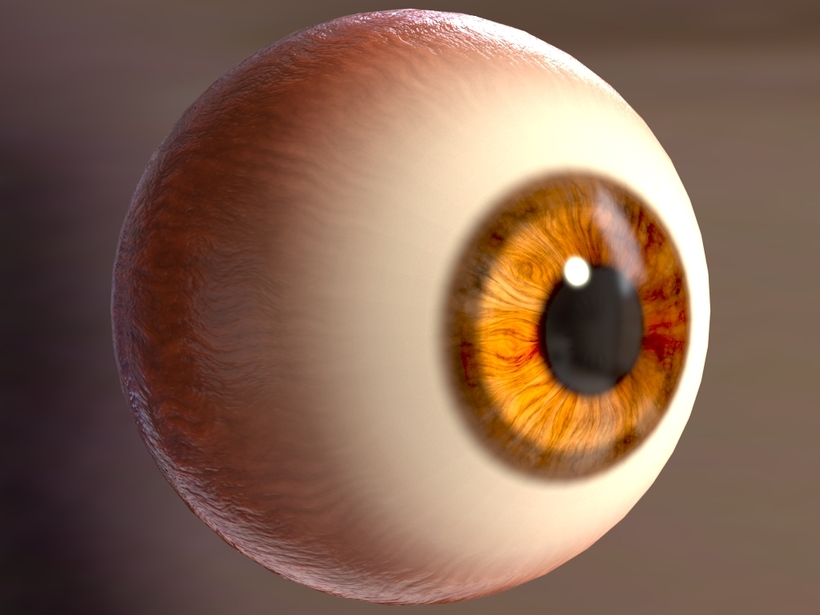 Asset Procedural Eye with fake caustic for mtoa for Maya