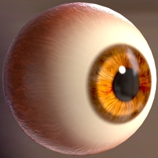 Asset Procedural Eye with fake caustic for mtoa for Maya 1.0.0