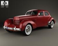 Cord 810 Westchester sedan 1936 3D Model