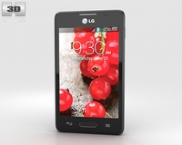 LG Optimus L4 II E440 3D Model