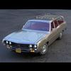Ford Torino Wagon 1971 3D Model