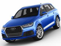 Audi Q7 2016 3D Model