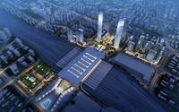 Railway terminal 007 3D Model