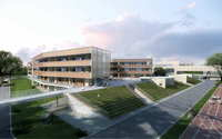 School buildings 010 3D Model