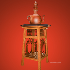 Arabian Chair 3D Model