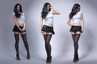 Sexy brunette woman 3D Model