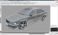 BMW 540 E39 1997 dirty photo scan 3D Model