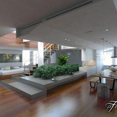 Open space 01 3D Model