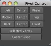 Pivot Control 1.0.0 for Maya (maya script)