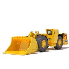 Underground Mining Loader R1600G 3D Model