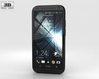 HTC Desire 601 Black 3D Model