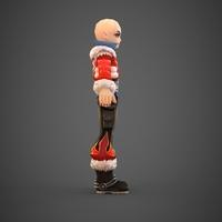 Toon character Pichu 3D Model