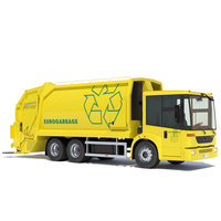 Mercedes Econic Garbage Truck 3D Model