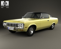 AMC Matador coupe 1972 3D Model