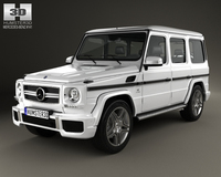 Mercedes-Benz G-Class 65 AMG 2013 3D Model