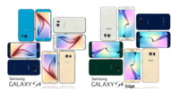 Samsung Galaxy S6 and S6 Edge All Color Pack 3D Model