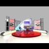 News Studio 005 3D Model