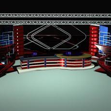 News Studio 006 3D Model