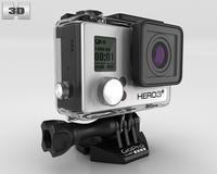 GoPro HERO3+ 3D Model