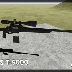 Orsis T-5000 UE4 ready 3D Model