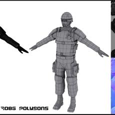 Trooper 3D Model
