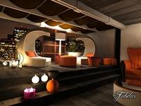Living room 24 3D Model