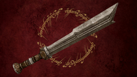 Fili Sword low-poly 3D Model