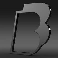 BB logo 3D Model