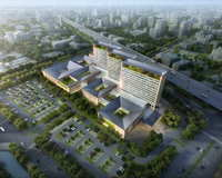 Hospital building 004 3D Model