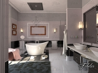 Bathroom 54 3D Model