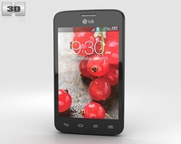 LG Optimus L4 II Dual E445 3D Model