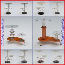 Tables Pack 2 3D Model