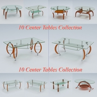 Tables Pack 3 3D Model