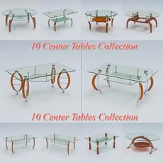 Tables Pack 3 3D Model