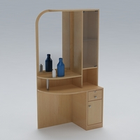 Dressing Table 01 3D Model