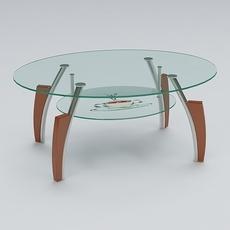 Center Table 01 3D Model