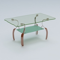 Center Table 02 3D Model