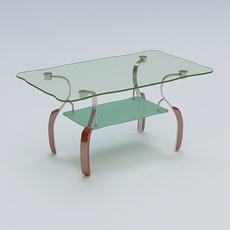 Center Table 02 3D Model