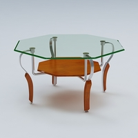 Center Table 03 3D Model