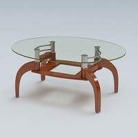 Center Table 04 3D Model