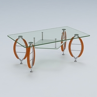 Center Table 05 3D Model