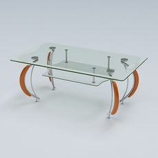 Center Table 06 3D Model