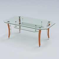 Center Table 08 3D Model