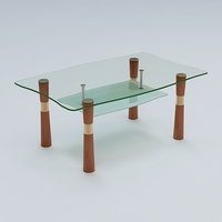 Center Table 09 3D Model