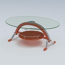 Center Table 10 3D Model