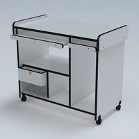 Computer Table 03 3D Model